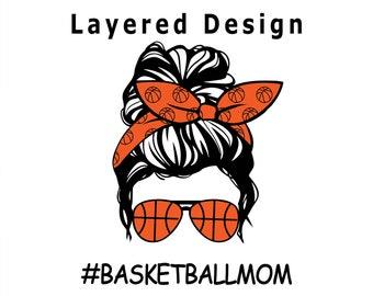 Basketball Mom Svg, PNG, PDF, Cricut, Silhouette, Cricut svg, Silhouette svg, Basketball svg, mom svg, Basketball Clipart, Sports svg