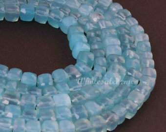 Newly Listed  ~~~ Blue Chalcedony Briolette Beads ~~~1 Strand~~143 carat~~ Heart Shape~~~ 13 Pieces~~~Side Drilled~~12-17 MM~~