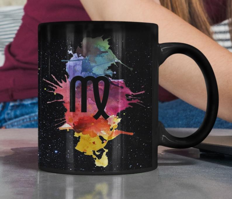 Virgo Magic Mug Color Changing Zodiac Horoscope Gift Idea for image 0