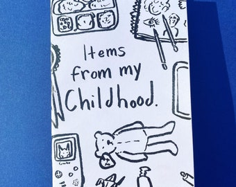 Items From My Childhood- a zine