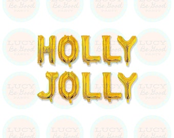 Christmas Holiday Party Festive Sayings Ugly Sweater Balloon Banner 16 Mylar Foil Balloons What the Elf 3 Color Options