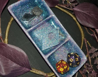 Custom - Trinket Dish with 3 sections - Great for trinkets, Jewelry, or condiments!