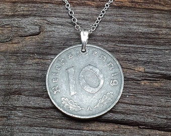 Sixpence Coin Zipper Charm Vintage ~ Silver Jewellery ~ Lucky Charm ~ Wedding Tradition ~ British Gift ~ Unusual Birthday Present ~ Travel