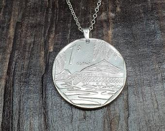 Year 2007 Coin 2007 Necklace Anniversary Gift Genuine 2007 mint coin 14th Anniversary Gift Anniversary Gifts for Women