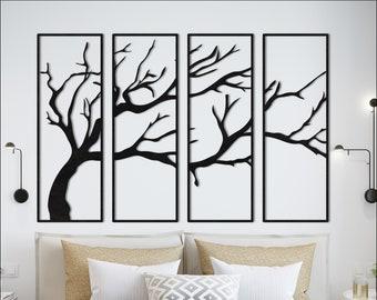 Tree Branch Wall Art Etsy