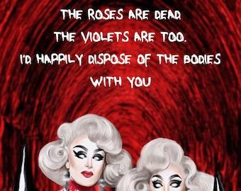 Birthday Greetings Card Boulet Brothers Dragula