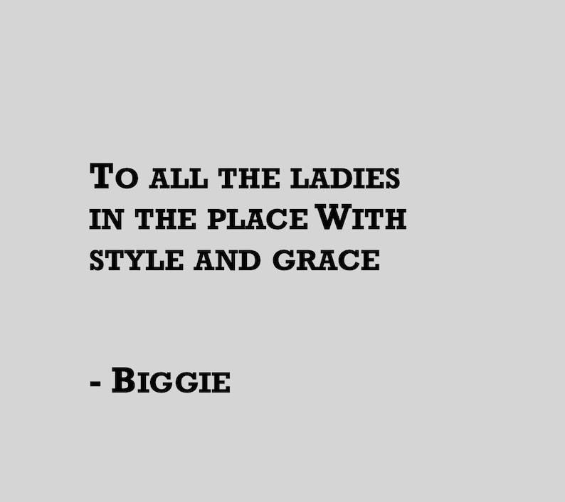 Biggie.