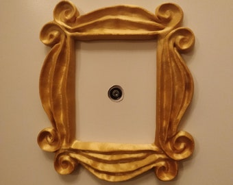 3D Printed Friends Inspired Peephole Frame