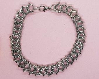 Chain Mail Bracelet (Steel)