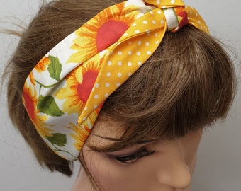 Hair Bandana// Hair Scarf// SelfTie// Bees