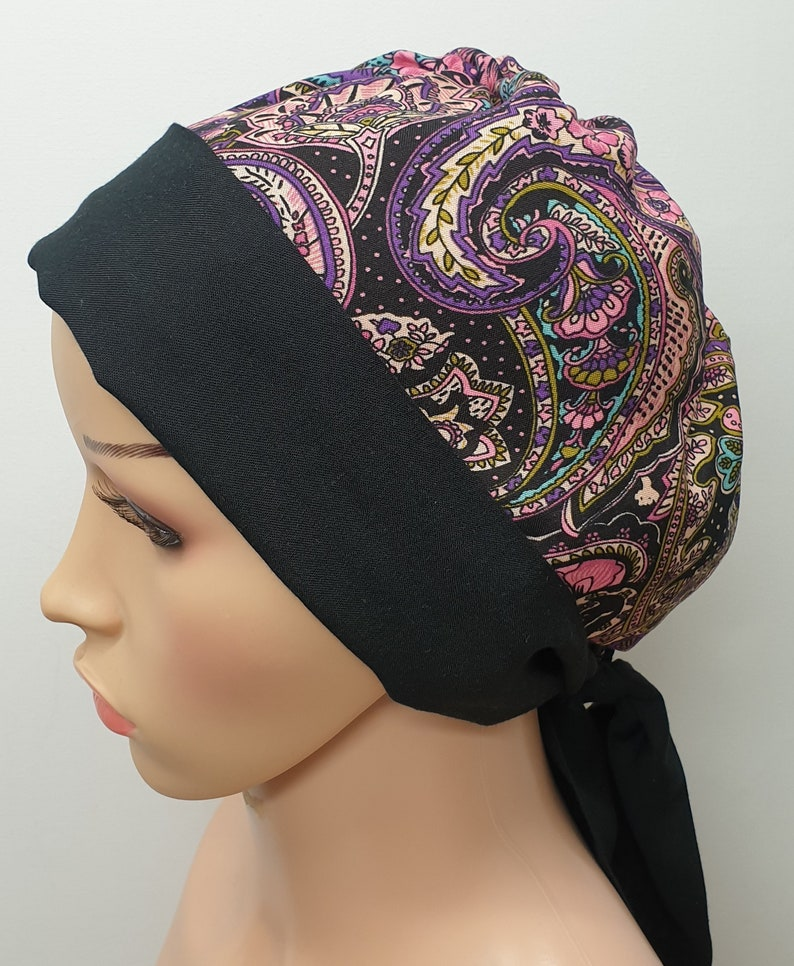 cancer head wrap Women chemo head scarf hair loss head wear chemo treatment cap gift idea surgical head covering chemotherapy bonnet