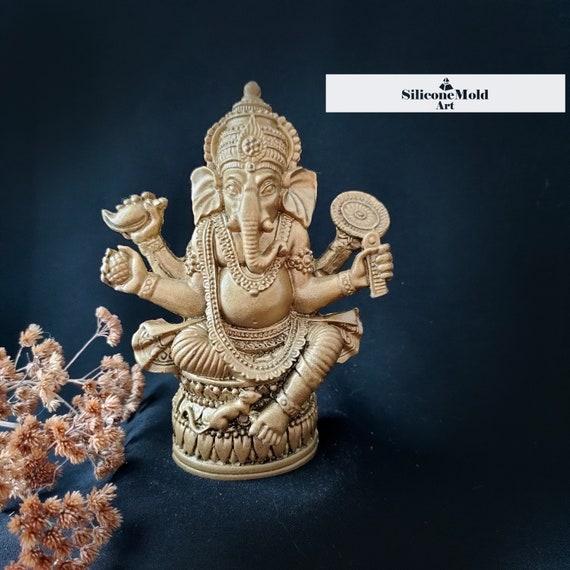 Silicon mold for candles. Candle Ganesh Mold of \u201cGanesha\u201d