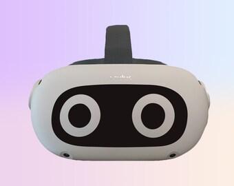 Mario Blooper Oculus Quest 2 Decal ~ Custom Color ~ Free Shipping ~ Premium Vinyl
