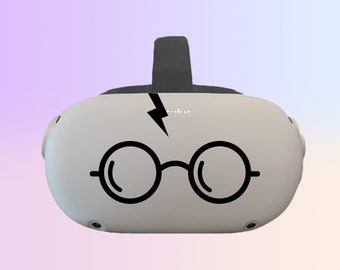 Harry Potter ~ Oculus Quest and Oculus Quest 2 Decal ~ Custom Color ~ Free Shipping ~ Premium Vinyl