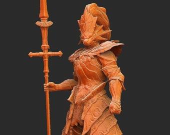 Ornstein Dark Souls 3D Model STL File 3D Print