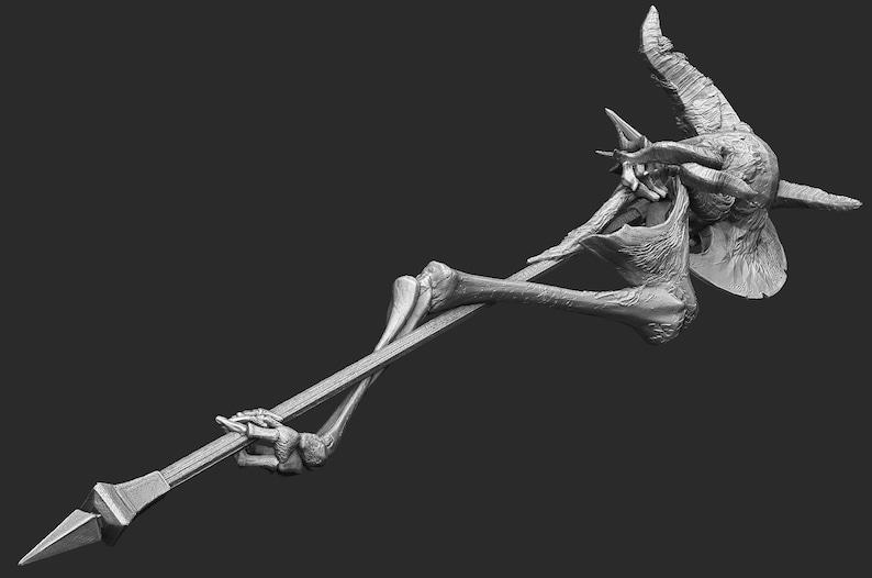 Crucifix of the Mad King Dark Souls 3 STL Digital Model 3D Print Cosplay
