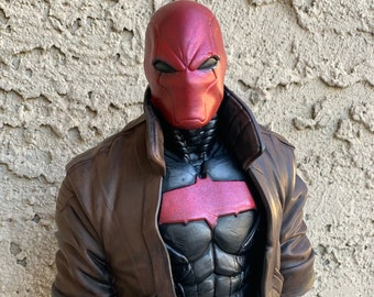 Red Hood Jason Todd Inspired Bust