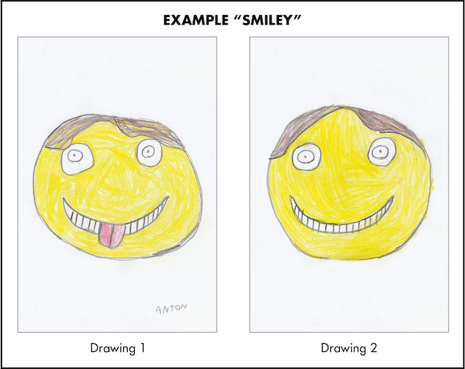 YOUR DRAWING as Flip Image (lenticular)