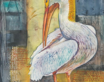 White Pelican (Limited Edition Only 50 Available in the World)