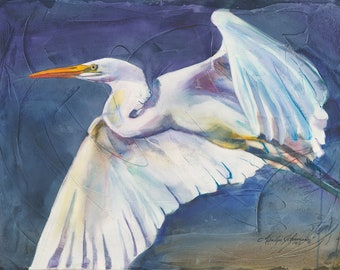 White Heron (Limited Edition Only 50 Available in the World)