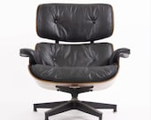 Rare 1956 Herman Miller Eames Lounge Chair Model 670 and 671 Vintage Mid-Century Modern
