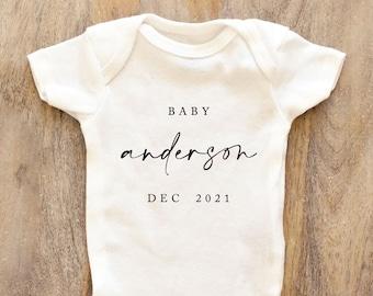 pregnancy announcement onsie