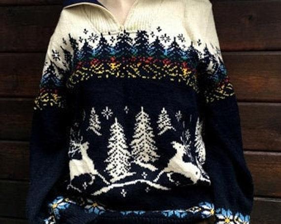Vintage Ugly Christmas Sweater ~~ Ugly Christmas S