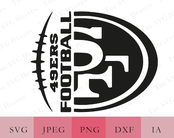 49ers Logo Svg Etsy