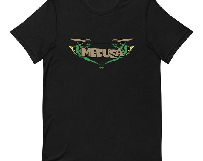 Medusa - God Queen - Dragon Rider - Short Sleeved Unisex T-Shirt