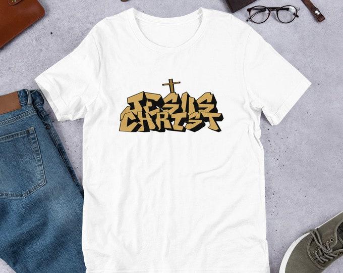Jesus Christ - Short Sleeved Unisex T-Shirt