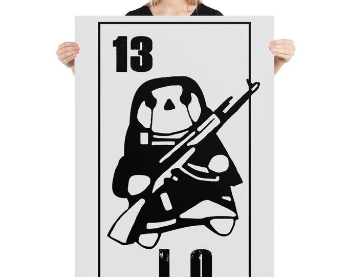 12 L.O - Poster - Rebel Army - Resistance - Revolution - Freedom Fighters