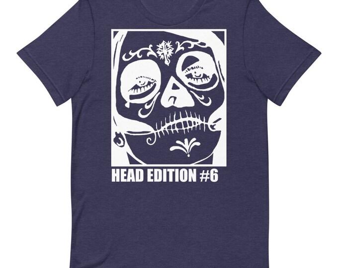 Head Edition #6 Dark - Short Sleeved Unisex T-Shirt