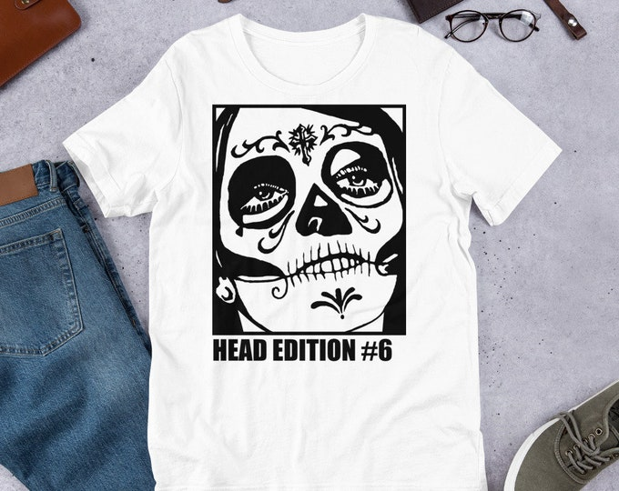 Head Edition #6 - Short Sleeved Unisex T-Shirt
