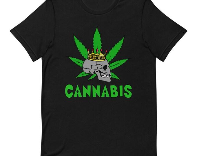 Cannabis - Short-sleeved Unisex T-Shirt