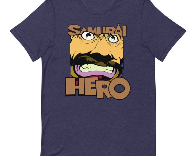 Samurai Hero - Short Sleeved Unisex T-Shirt