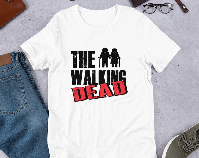 The Walking Dead - Short-Sleeved Unisex T-Shirt - Grandpa - Grandma - Funny
