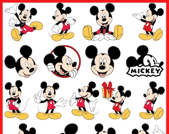 Mickey Mouse Etsy