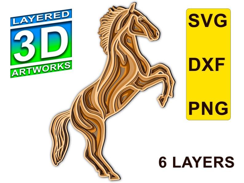 Download Horse Mandala 3d Layered Svg File Cnc File For Wood Animal Mandala Files Horse Multilayer Blueprint Laser Cut Files Dxf Horse Templates Pet Supplies Urns Memorials Beyourbussiness Com