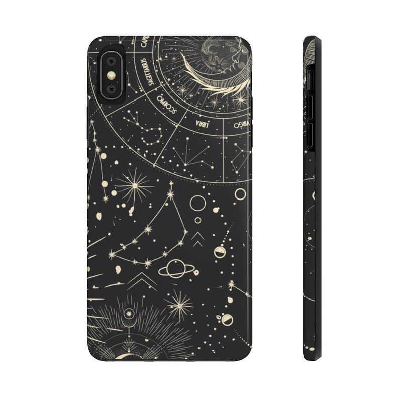witchy Gothic Phone Case witch celestial Celestial Goth Phone Case occult wicca esoteric Bruja Case Mate Tough Phone Case moon