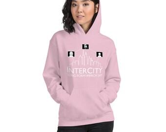 InterCity Jam Trace Logo Unisex Hoodie