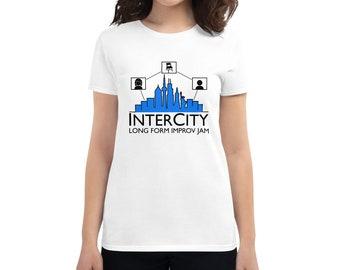 InterCity Jam True Logo Women's short sleeve t-shirt