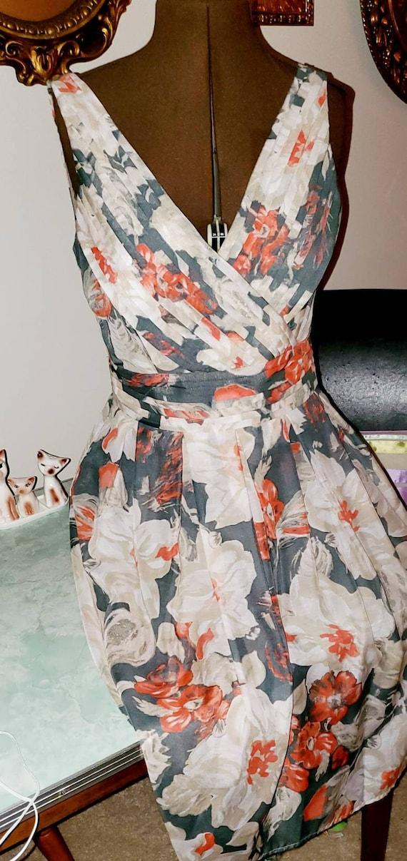 Laura Ashley Floral Pretty Dress.Vintage Laura Ash