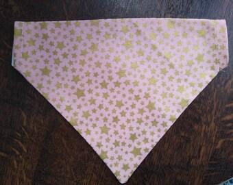 Gold star bandana, bowtie and scrunchie