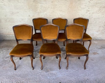 French Dining Chairs Etsy