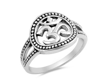 om sign ring  ohm  custom jewelry  indian  desi  hindu  holiday  gift  aum