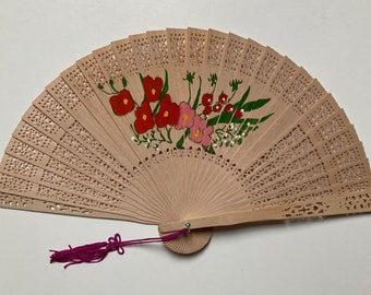 Sunflower Printed Folding Hand Fans 12 Pieces Party Supplies