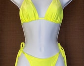 Cheeky Bottom String Bikini Medium
