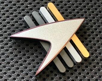 Star Trek The Next Generation Future Combadge Communicator Prop