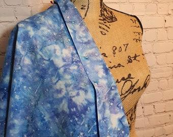 Atlantic Bali Batik Shooting Stars, Hand Painted 100% Woven Cotton Fabric
