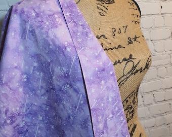 Copacabana Bali Batik Shooting Stars, Hand Painted 100% Woven Cotton Fabric